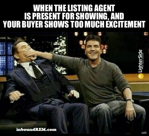 Why sellers should NOT be at listing appointments