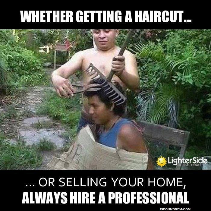 Real Estate Memes - Hire a professional or DIY.