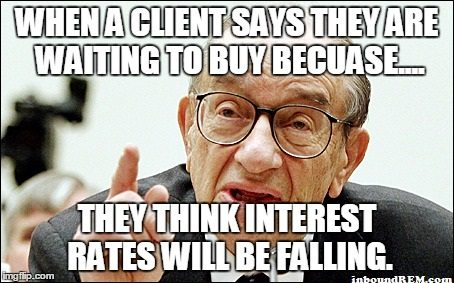 Real Estate Memes - Interest rates will drop