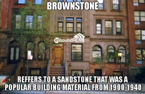 Brownstone Building as an example of real estate niches.