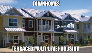 Town home Example Image for the Top 50 real estate niche blog post.