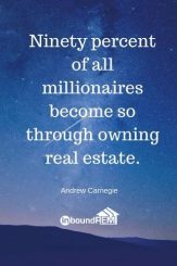 Andrew Carnegie Real Estate Quote